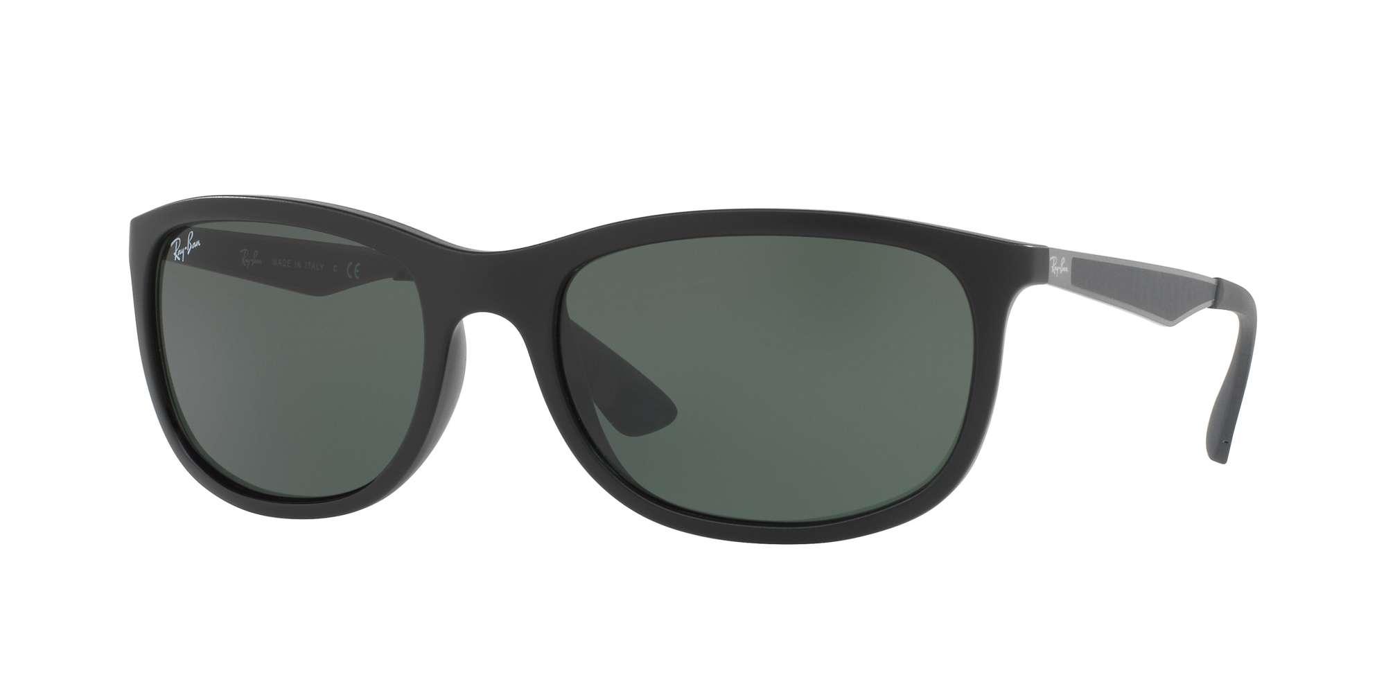MATTE BLACK / GREEN lenses