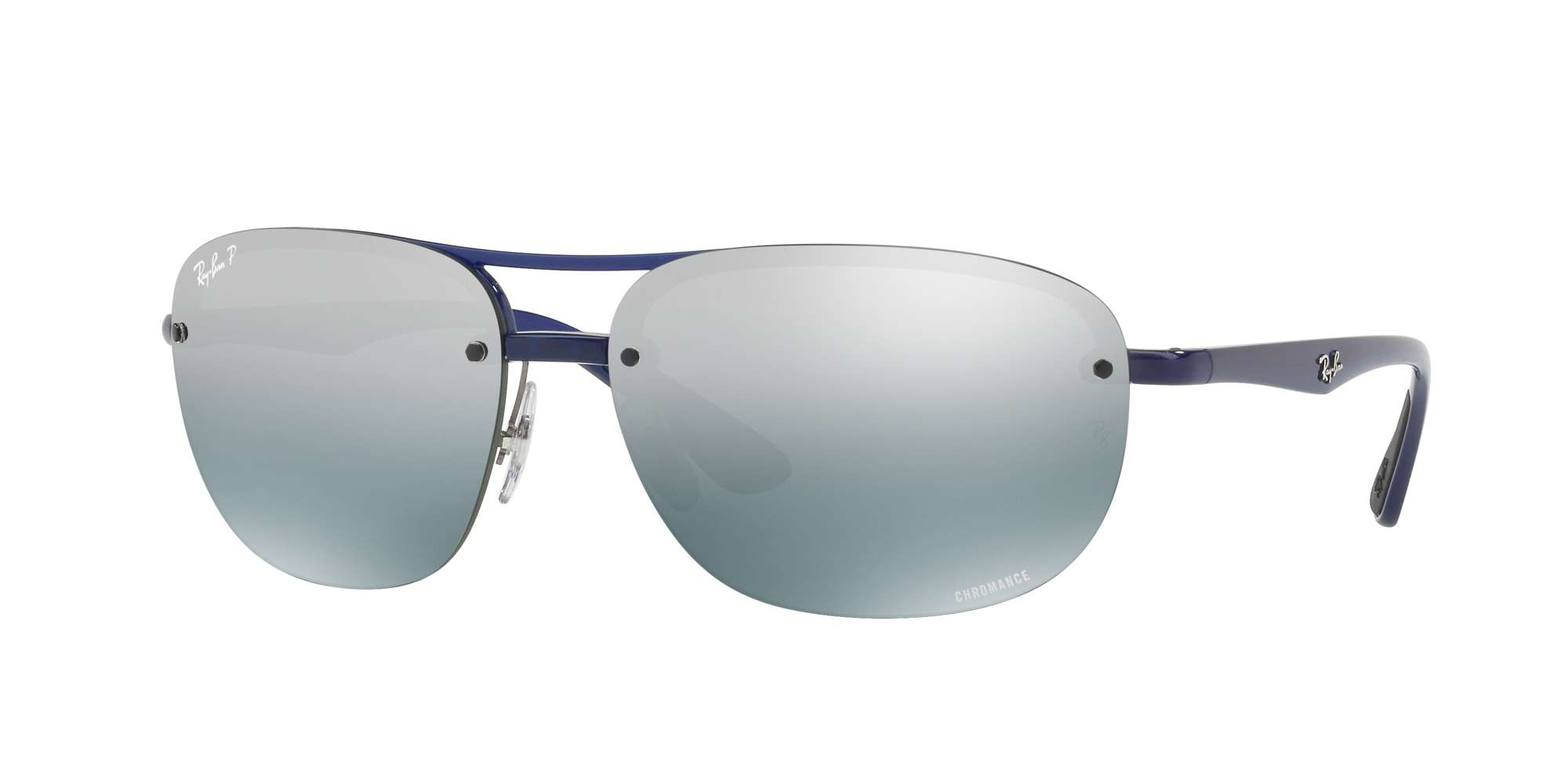 BLUE / BLUE MIR GREY GRADIENT POLAR lenses