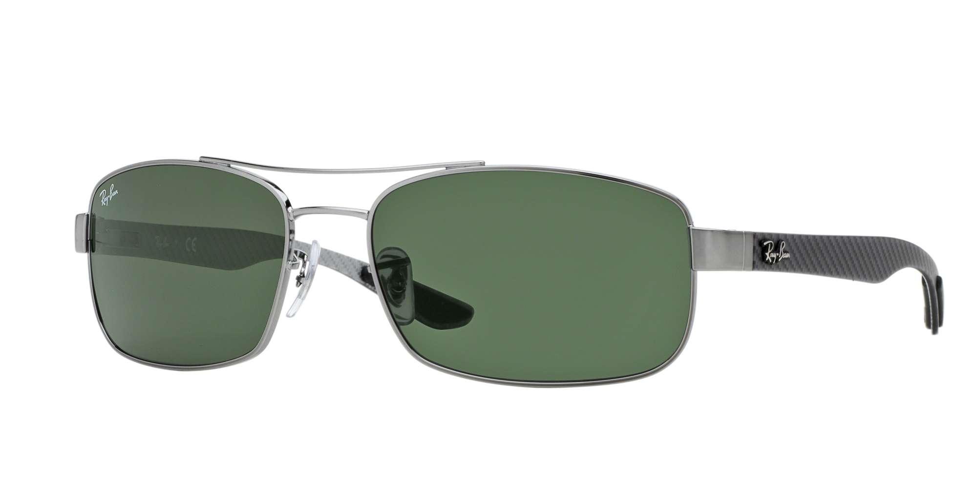 GUNMETAL / DARK GREEN lenses