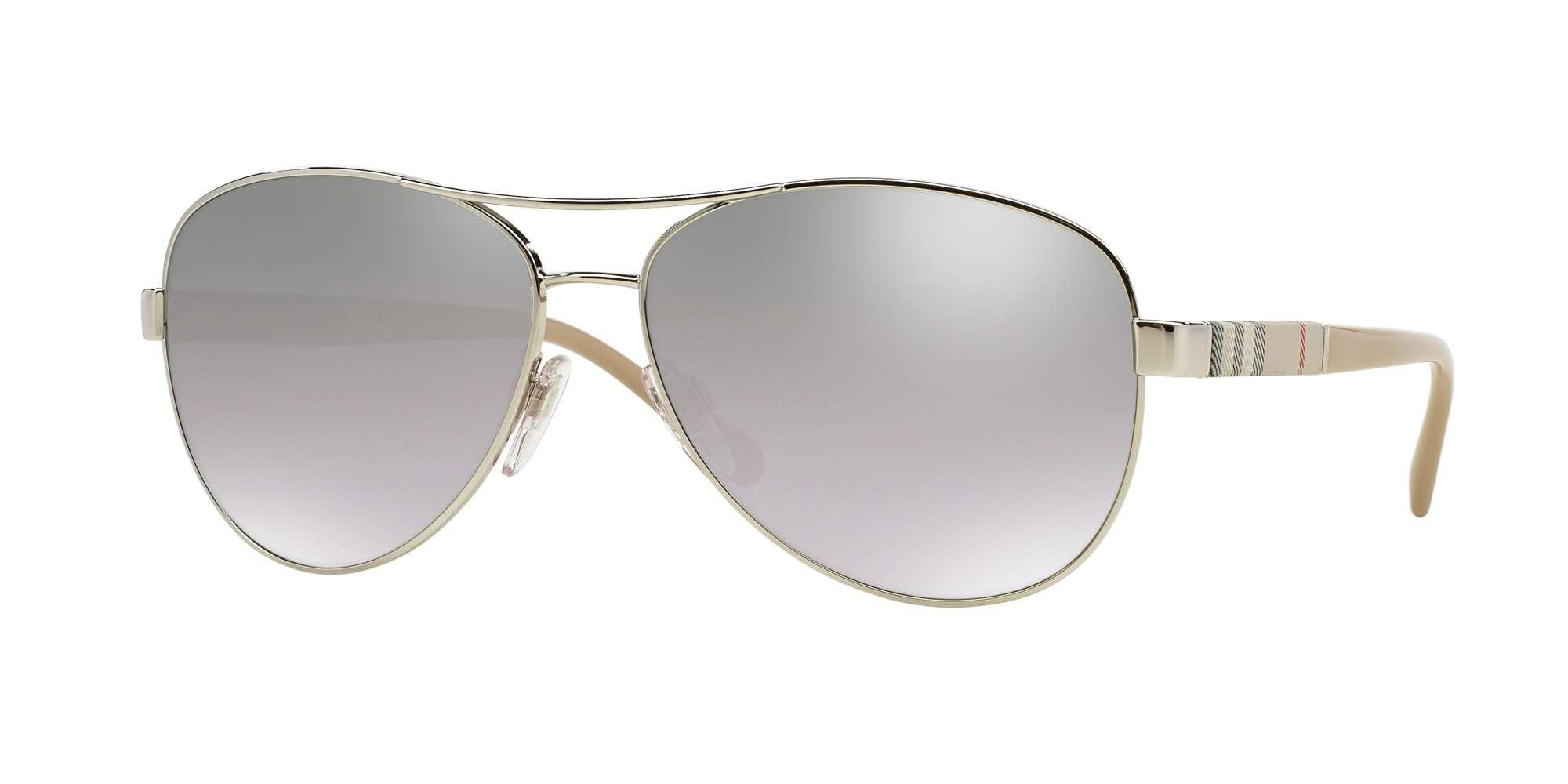 SILVER / LIGHT GREY MIRROR GRAD SILVER lenses