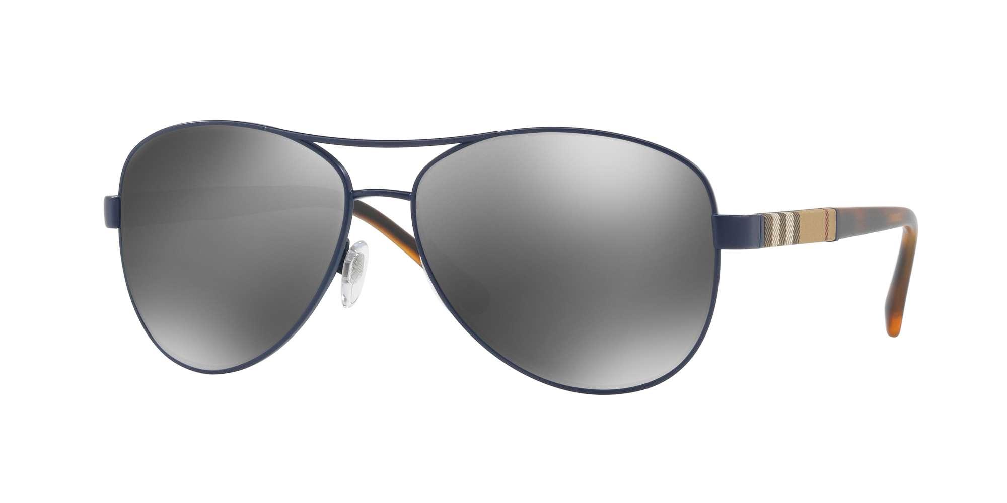 MATTE BLUE / GREY MIRROR SILVER lenses
