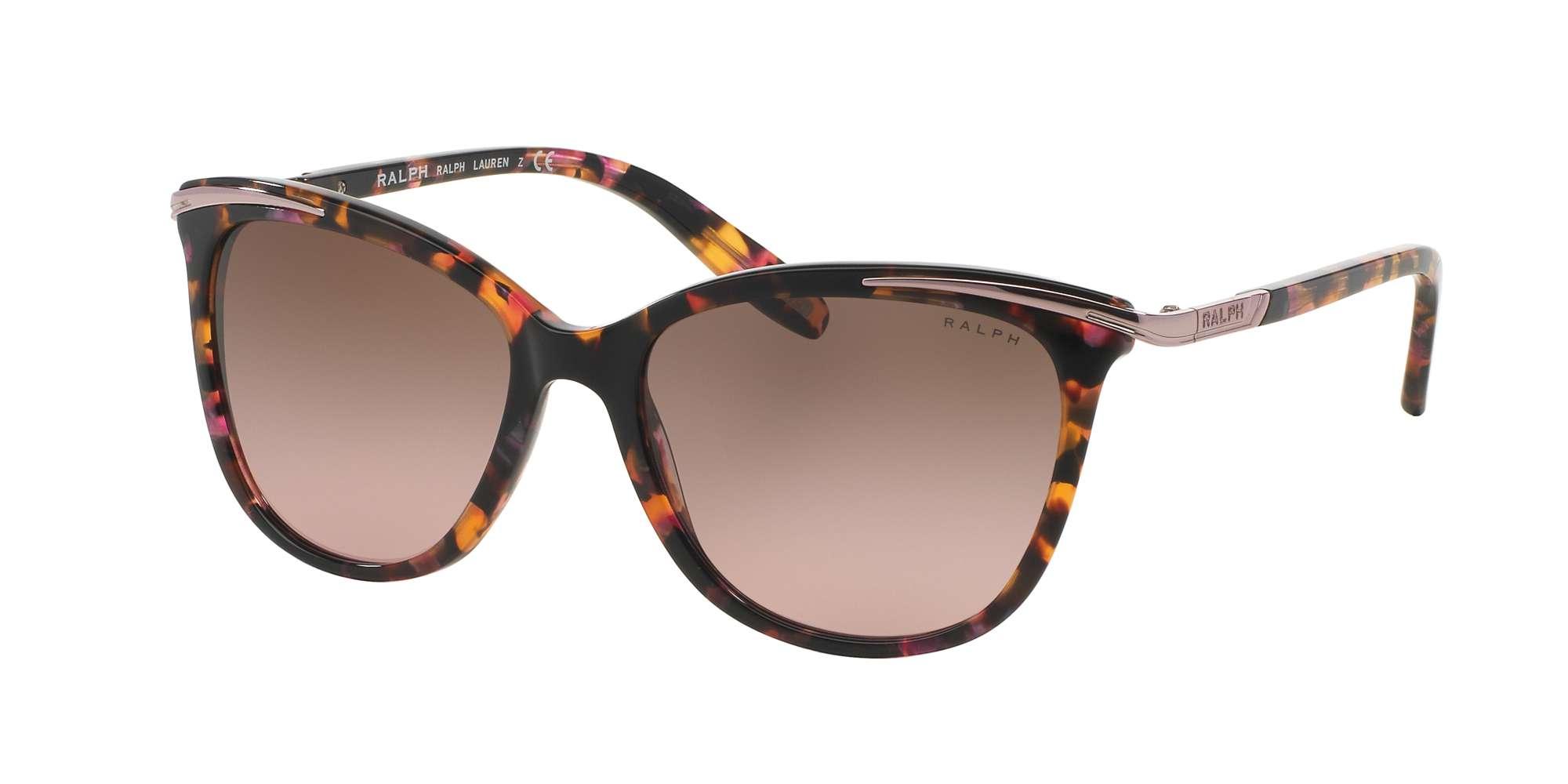 PINK MARBLE / BROWN ROSE GRADIENT lenses