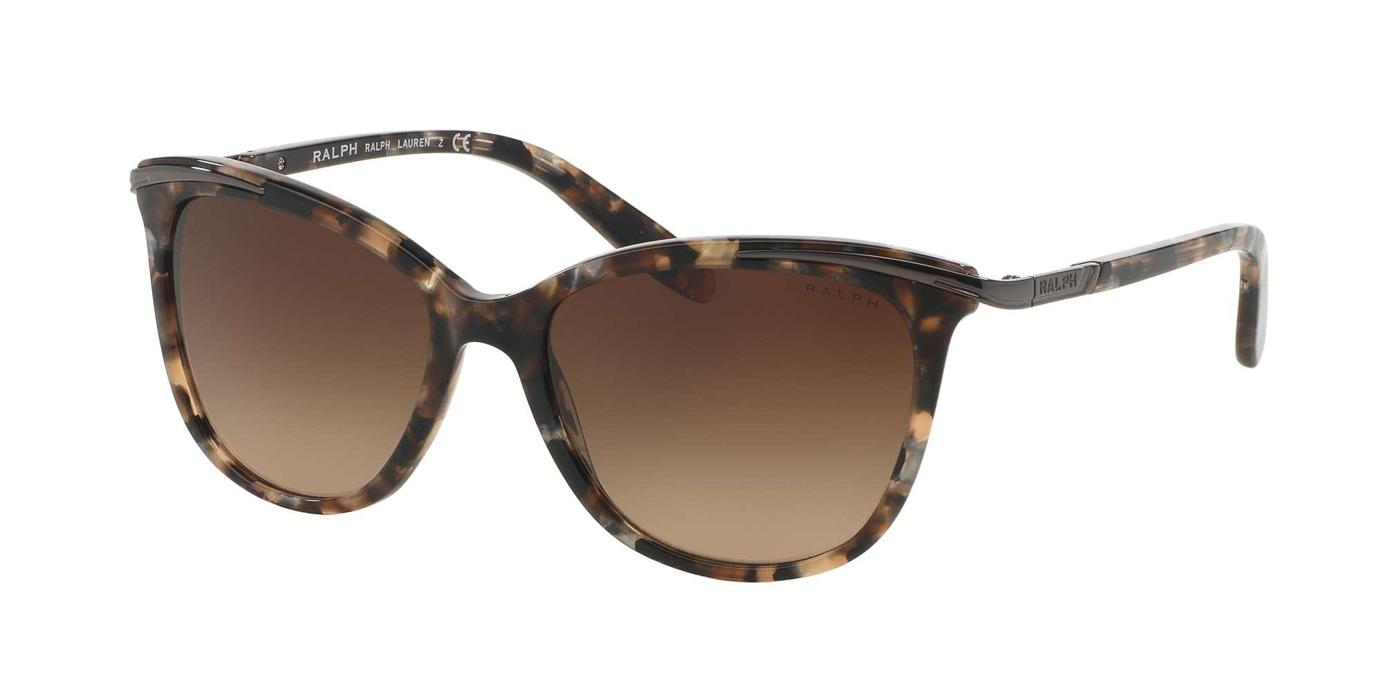 BROWN MARBLE / DARK BROWN GRADIENT lenses