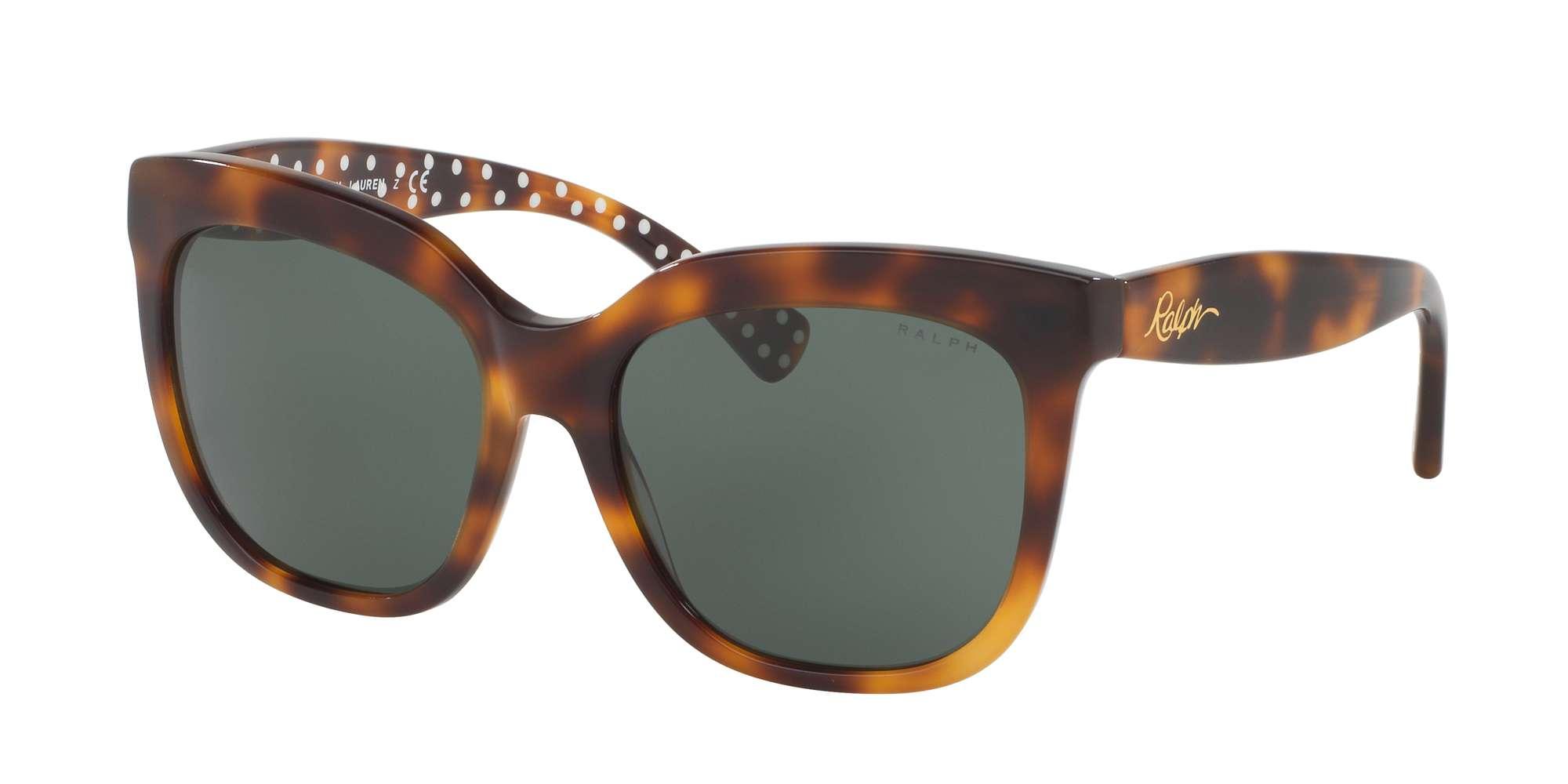 TORTOISE / GREEN SOLID lenses
