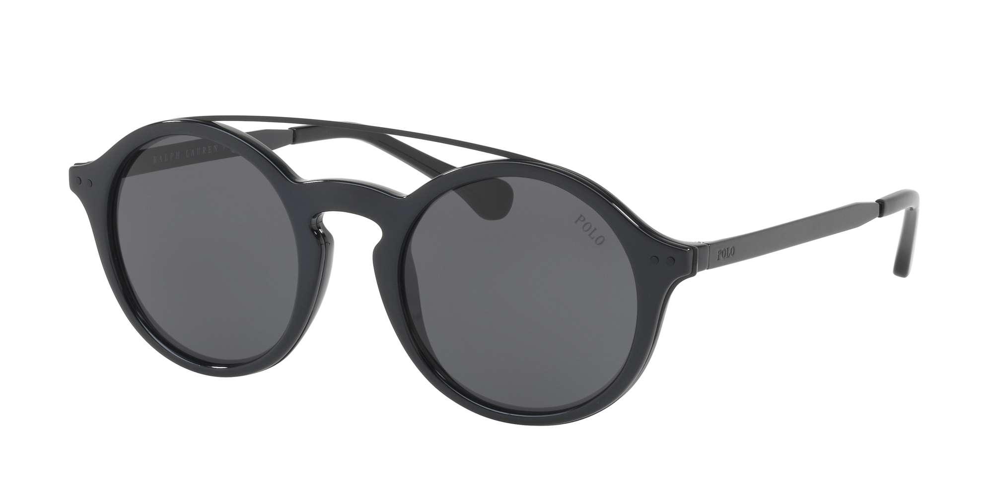 SHINY BLACK / DARK GRAY lenses
