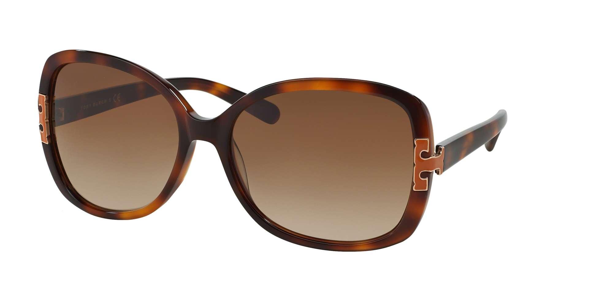 AMBER TORT / BROWN GRADIENT lenses