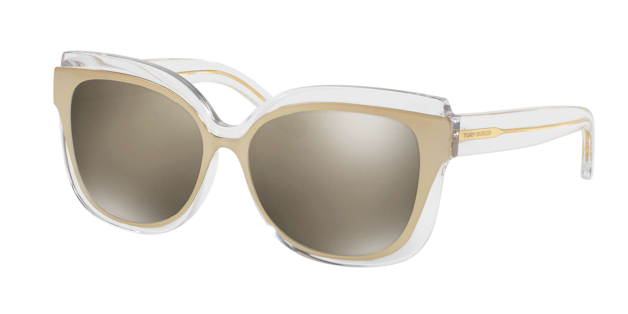 CRYSTAL/GOLD / GOLD FLASH MIRROR lenses