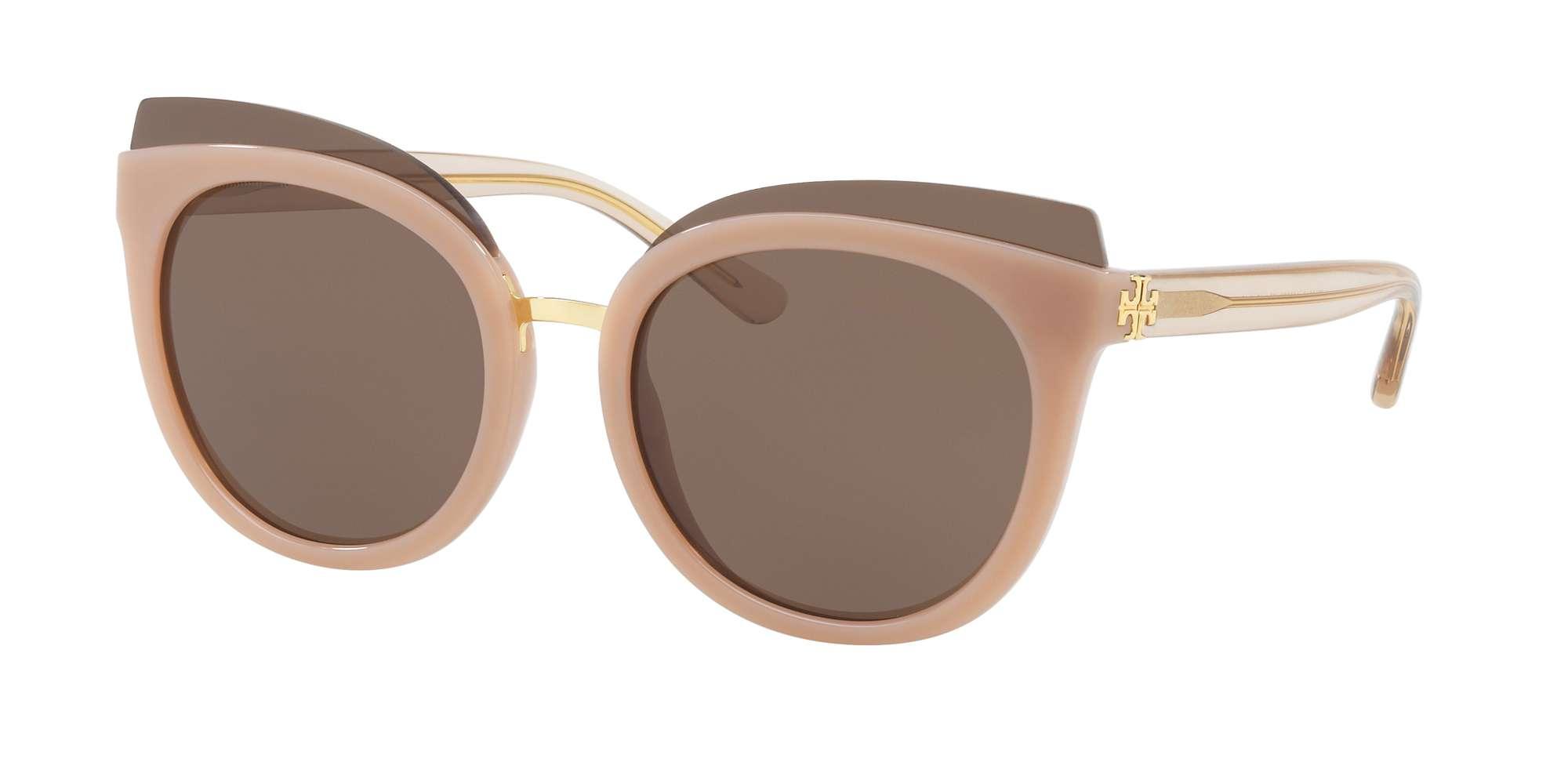 BLUSH / BROWN SOLID lenses