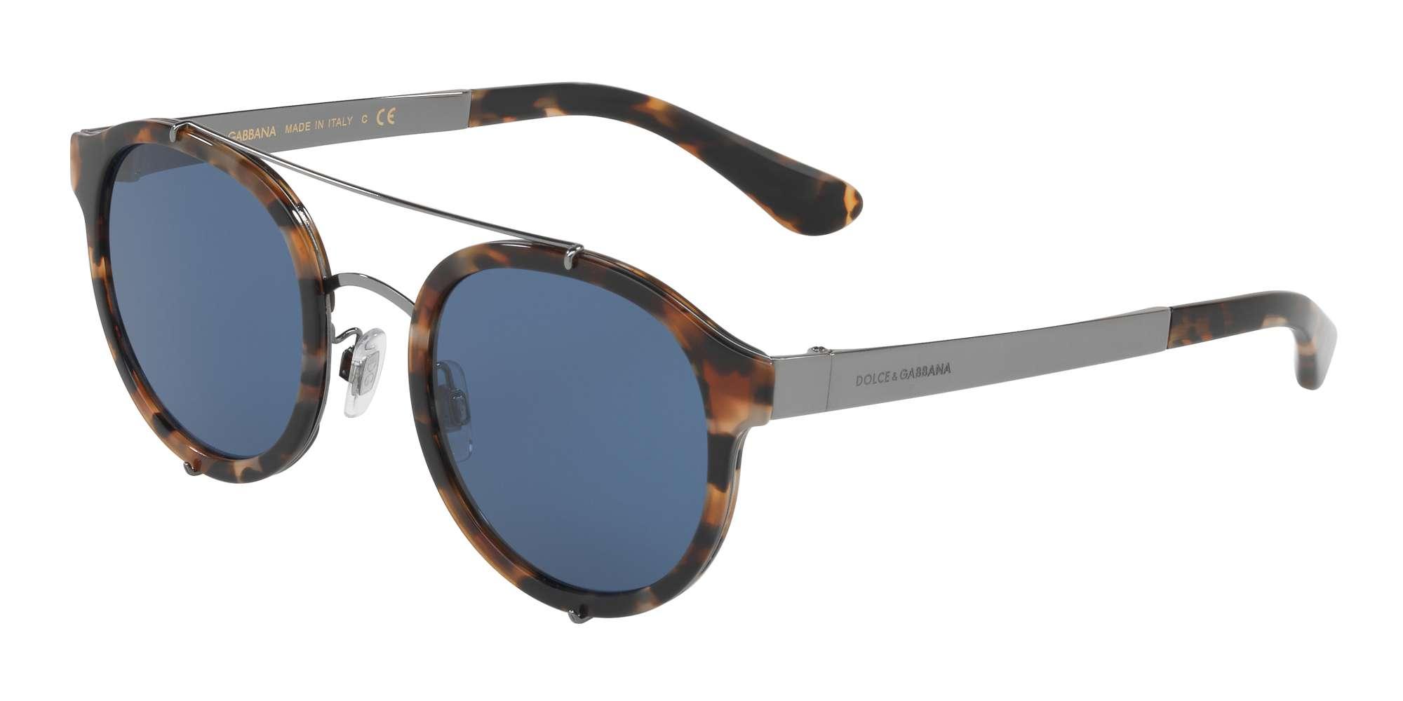 BLUE HAVANA / BLUE lenses
