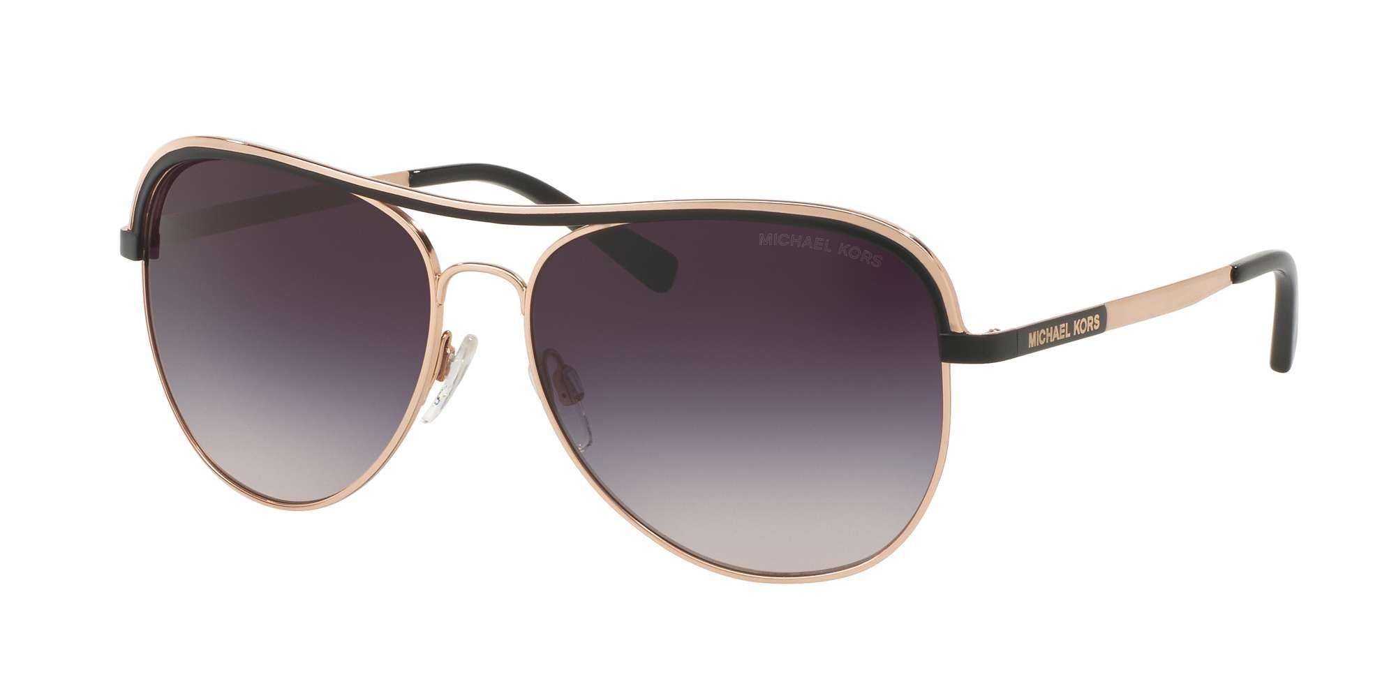 ROSE GOLD/BLACK / GREY ROSE GRADIENT lenses