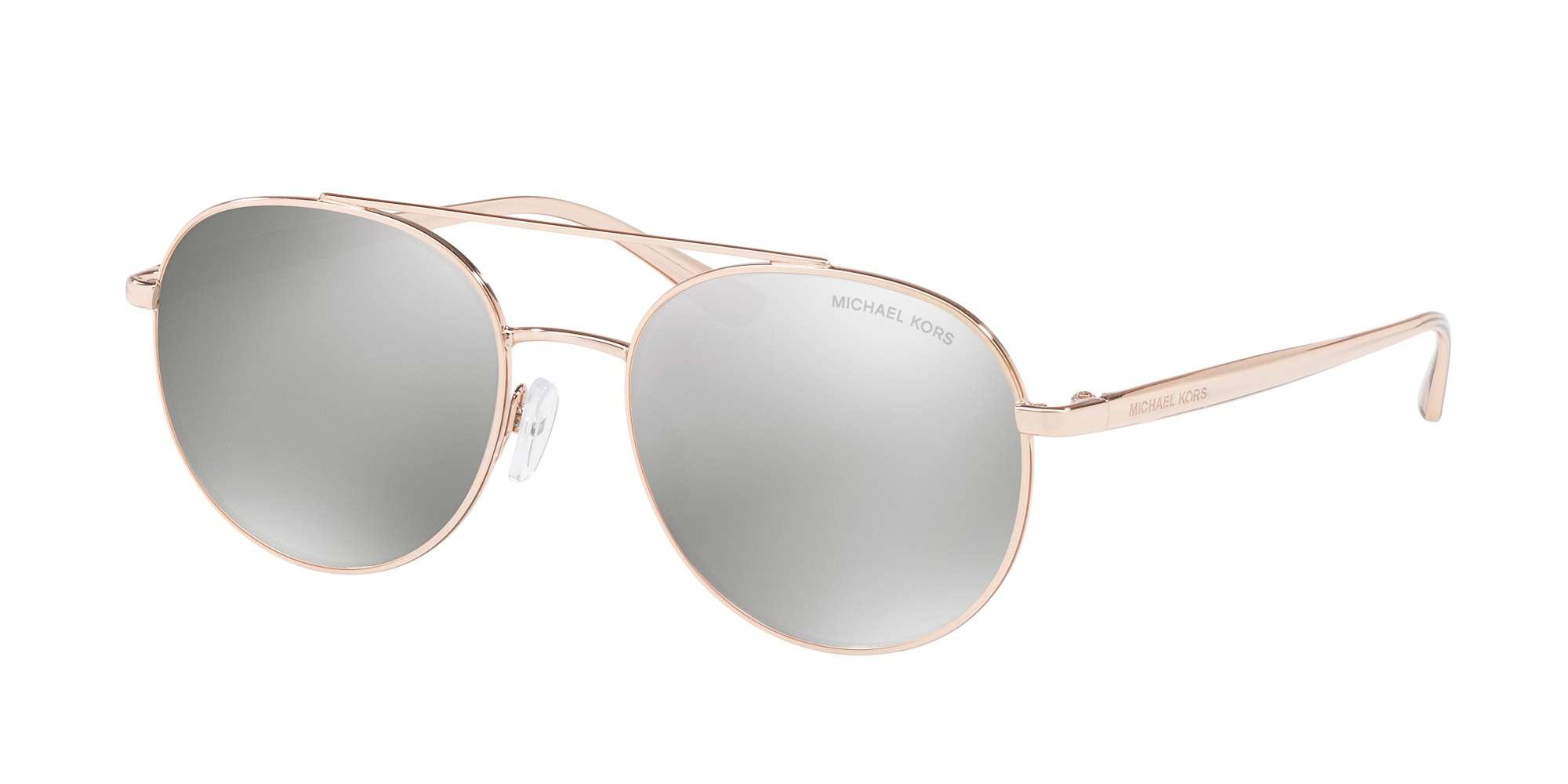 ROSE GOLD-TONE / SILVER MIRROR lenses