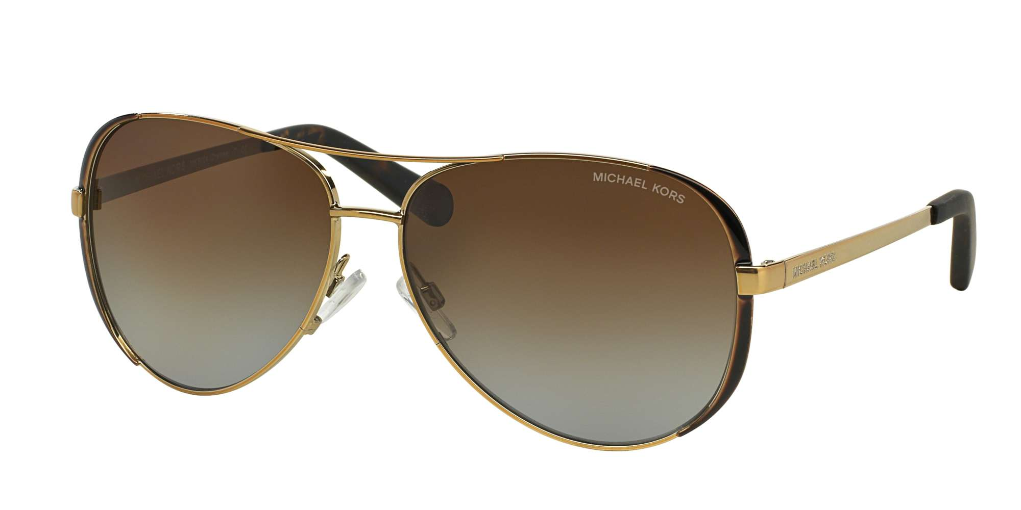 Gold - Dk Chocolate Brown / BROWN GRADIENT POLARIZED lenses