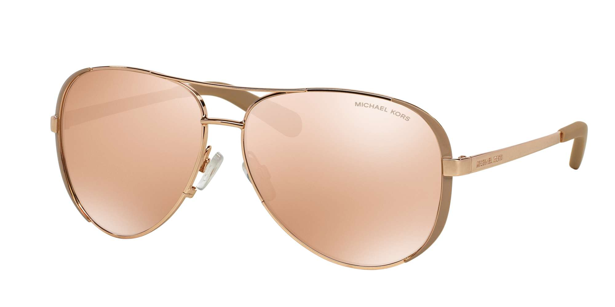 Rose Gold - Taupe / ROSE GOLD FLASH lenses