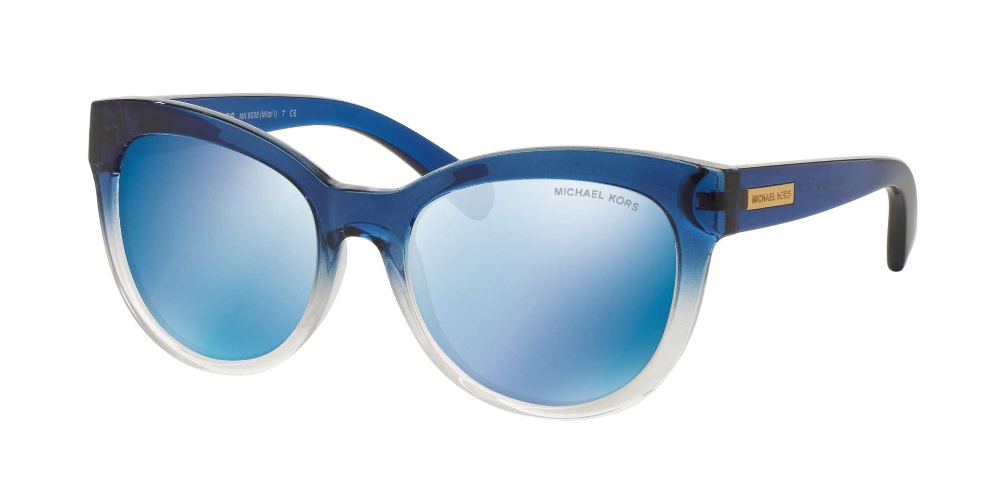 BLUE CLEAR GRADIENT/blue Mirror