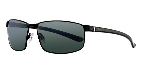 matte black / green polarized