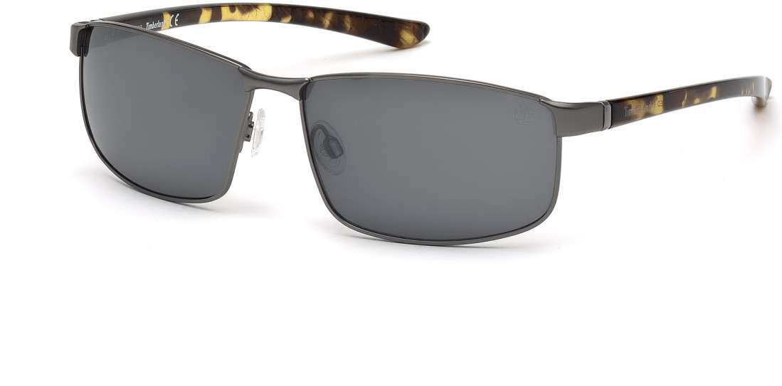 matte gunmetal / smoke polarized