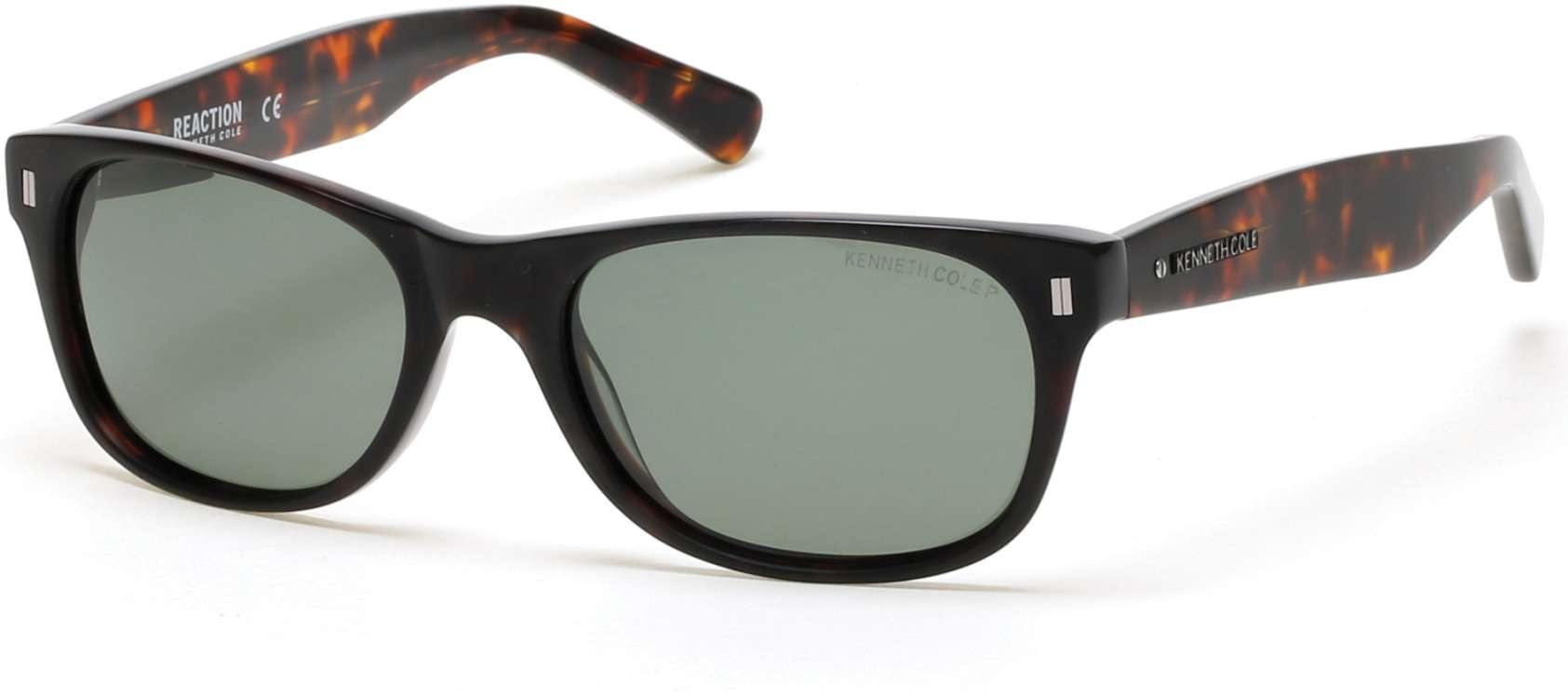 dark havana / green polarized