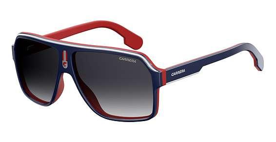 Blue Red / Dkgray Gradient lenses