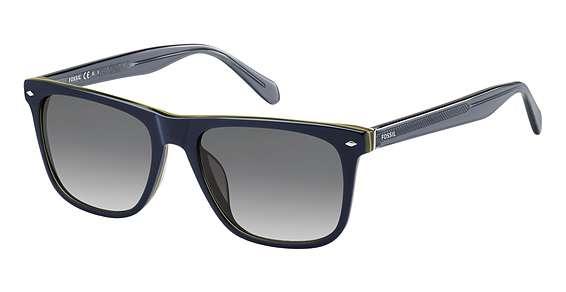 Blue / Dkgray Gradient lenses