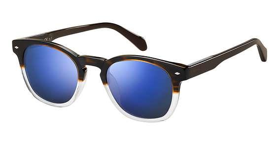 Brw Cryst / Blue Sky Miror lenses
