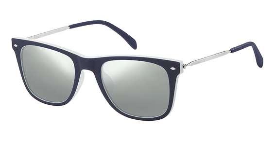 Blue Grey / Silver Mirror lenses