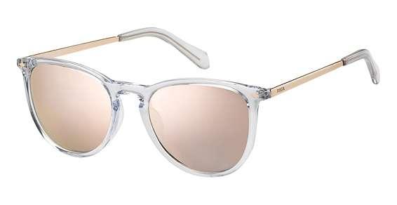 Crystal / Gray Rose Gold lenses
