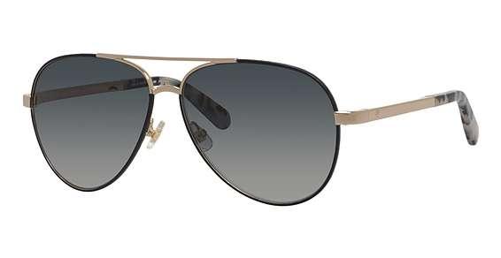 Blk Gold / Dkgray Gradient lenses