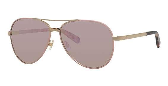 Gold Pink / Gray Rose Gold lenses