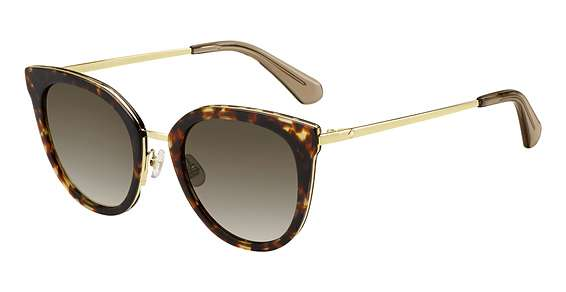 Havana Gold / Brown Gradient lenses
