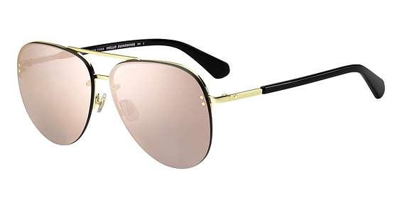Black / Gray Rose Gold lenses