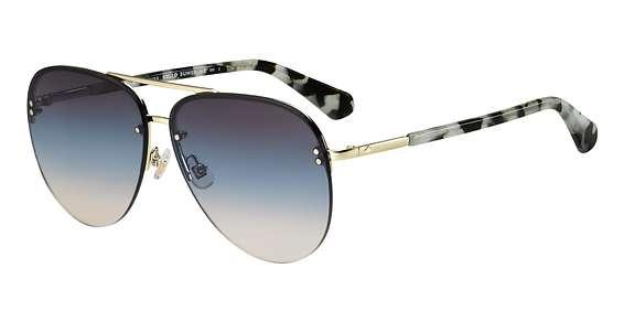 Blue Hvna / Brown Teal lenses