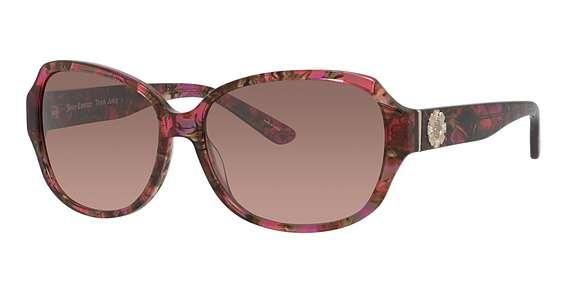 Pink Burgundy / Green Photocro lenses
