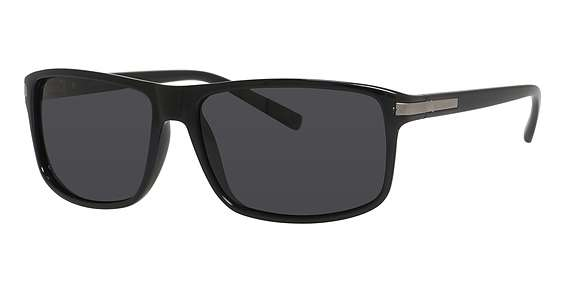 Shiny Black / Gray Polarized lenses