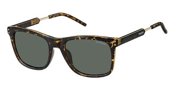 Havana Gold / Green Polarized lenses