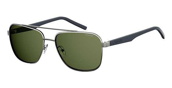 Ruthenium / Green Polarized lenses