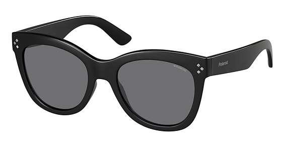 Shiny Black / Gray Polarized lenses