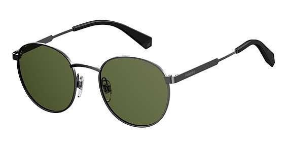 Dark Ruthenum / Green Polarized lenses