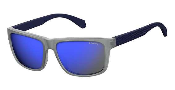 Matt Blue / Gry Mir Blu Pz lenses