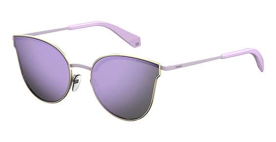 Lgh Gold / Purple Polarize lenses