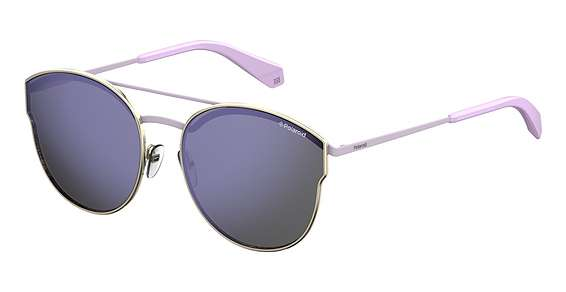 Lgh Gold / Purple Polarize lenses