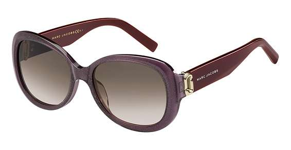Glitter Violet / Brown Gradient lenses