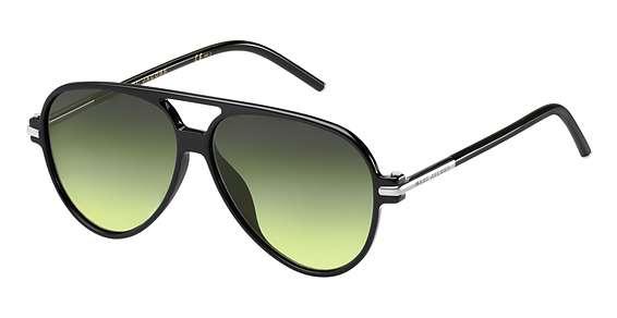 Shiny Black / Gray Green lenses