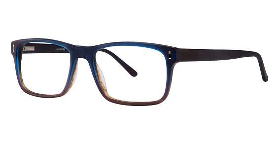matt blue/brown