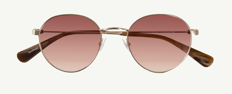 0a51af38ac4 Burnside in Soft Brushed Gold - Classic Specs