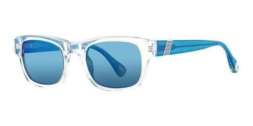 CLEAR/ LT. BLUE (CLBL / LT BLUE FL)