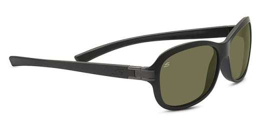 Sanded Black Glitter/ Polarized 555nm (7938)