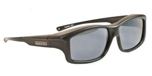 Satin Black / POLARVUE Grey Polarized (YM001/GREY)