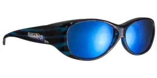 Teal Stripe / Polycarbonate Blue Mirror (KA002BM)