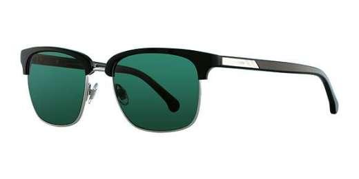 BLACK / GREEN SOLID lenses