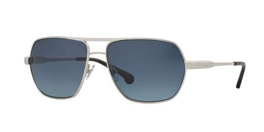 SILVER / BLUE GRADIENT POLARIZED lenses
